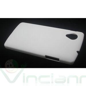 Pellicola-Custodia-rigida-specifica-per-LG-Google-Nexus-5-BIANCA-cover-aderente