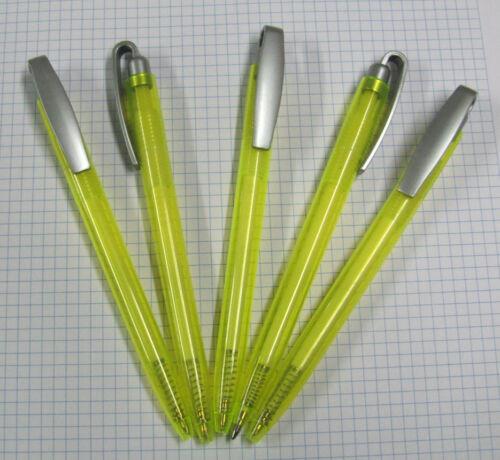 100 Kugelschreiber 340 limette ohne Werbung,