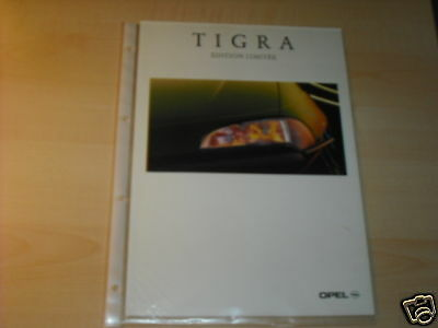 10631) Opel Tigra Edition Limitee France Prospekt 1997 Elegant Im Stil