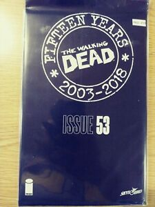 WALKING-DEAD-53-NM-15-YEAR-ANNIVERSARY-BLACK-POLYBAGG-SEALED-PA11-343