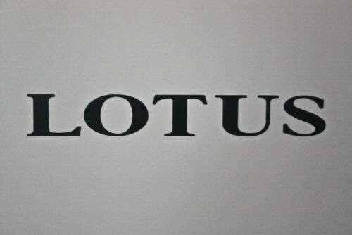 LOTUS vinyl decal accurate reproductions For S1 Elise /& others