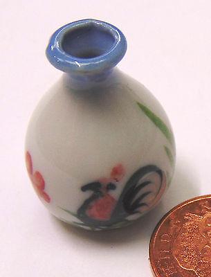 Escala 1:12 en un pote de cerámica de Flor de Allium tumdee Casa De Muñecas Accesorio de jardín