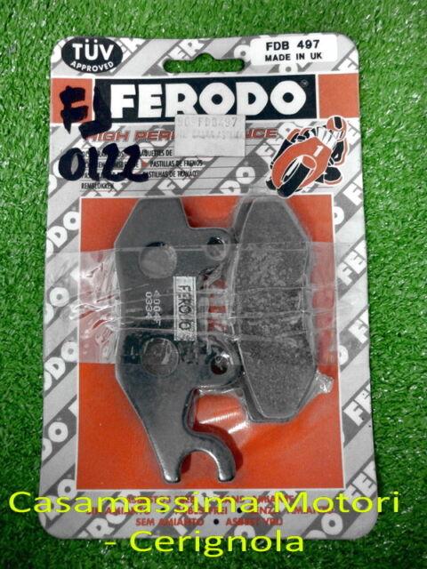 SR PASTIGLIE FRENO FERODO  PEUGEOT GEOPOLIS 300/400 - GEOSTYLE 250/300 - SATELIS