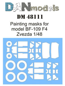 Dan Models 144108-1//144 Painting Masks for Zvezda Boeing-767-300 Scale
