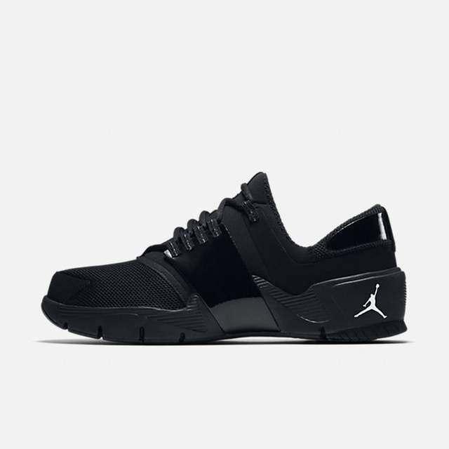 Auténtico Nike Air Jordan Alfa Trunner Weiß y schwarz 919714 010 Hombre Größe