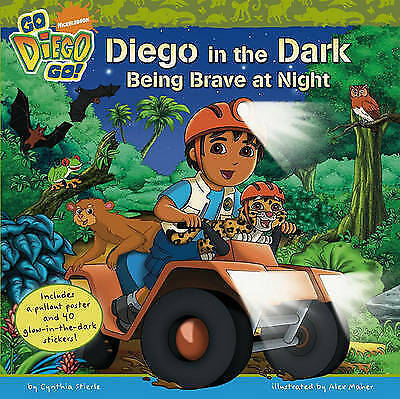 Go Diego - Diego in the Dark by Nickelodeon (Paperback) New Book