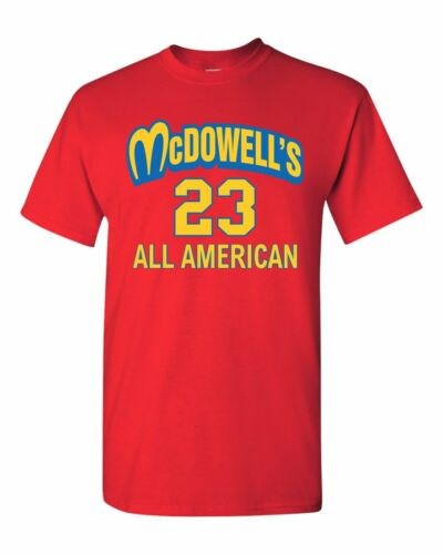 McDowell/'s All American All Stars Movie Coming to America Men/'s Tee Shirt 1443