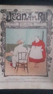 Rivista Jeans Che Rit N° 373 1908 Giornale Illustre che Appaiono Il Venerdì ABE