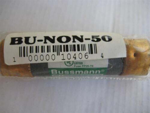 "1X BUSSMANN One Time FUSE NON 35  40  50  or  60 Amp 250V  /""NOS/"""