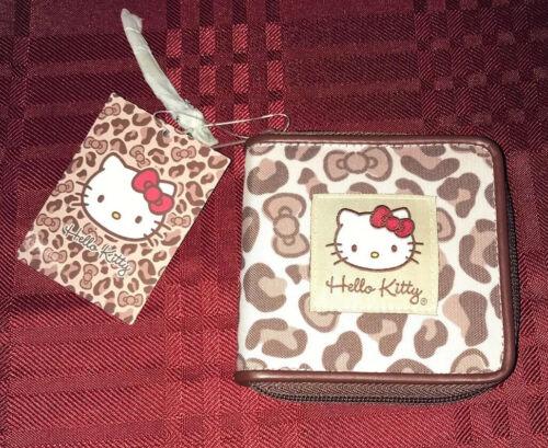 Sanrio Hello Kitty Leopard Wallet NEW