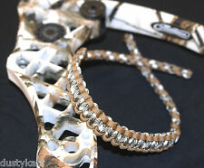 Bling Sling archery bow wrist sling strap Mathew Lost Coyote Brown olive white