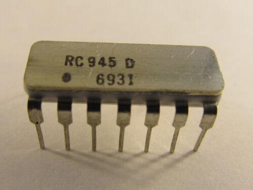 Rc945d Raytheon DTL clocked FLIP FLOP-costruzione e di funzione uguale con mc945l