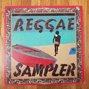 Reggae Sampler DJ Only (2) VINYL LPS 1 EX 1 VG+ VG Gatefold Record Cover 1978