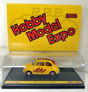 Brumm-1-43-Scale-Fiat-Nuova-500-1957-Hobby-Model-Expo-2003-diecast-model-car