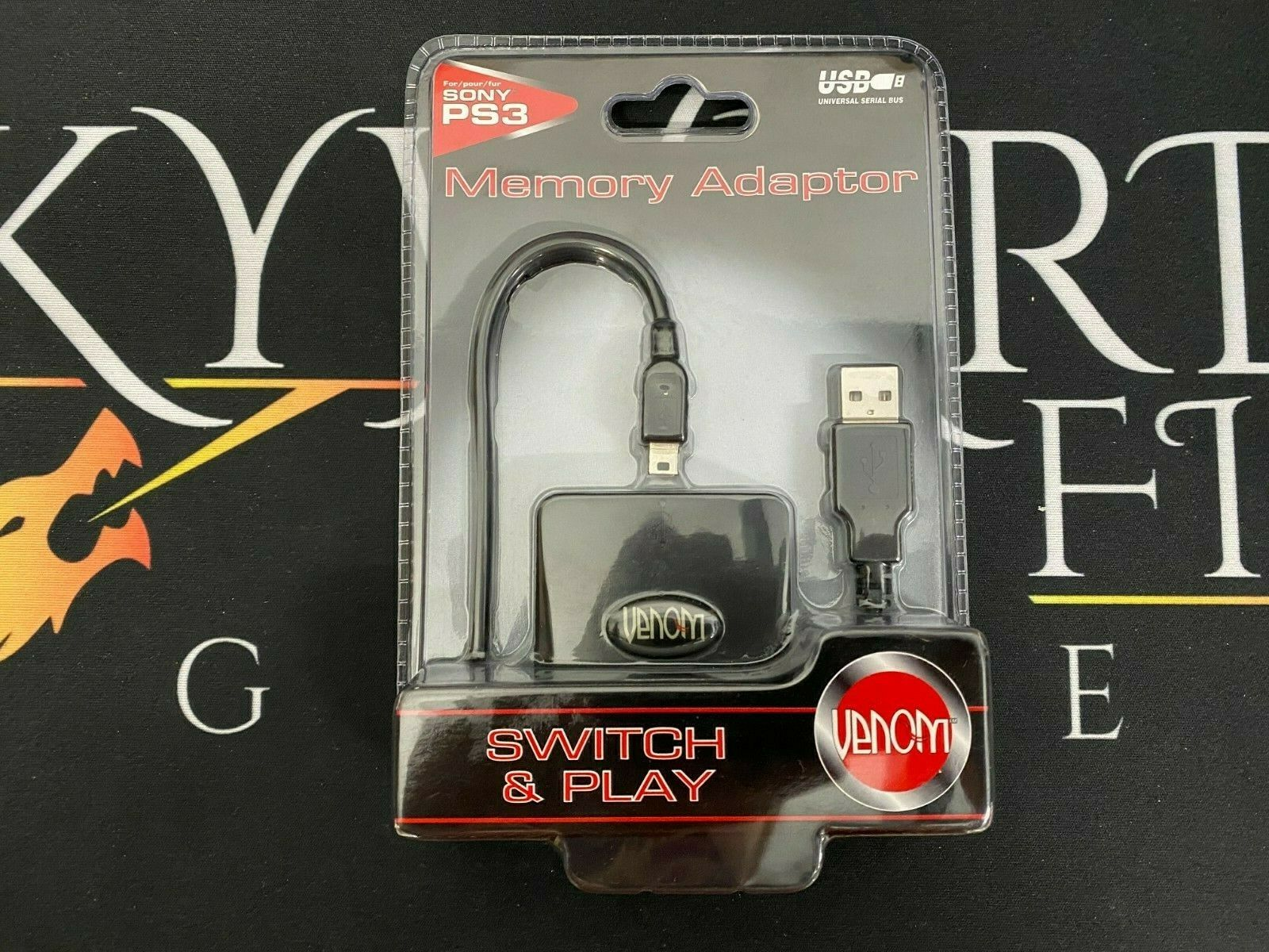 NEW Third Party Playstation Memory Card Adapter - Playstation 3 (SEALED/NEW)
