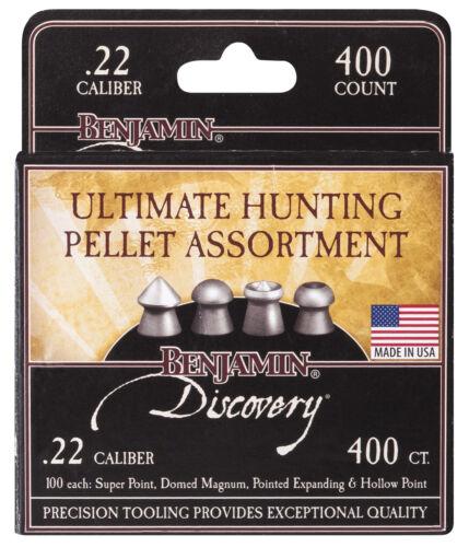 BENJAMIN DISCOVERY ULTIMATE Hunting Pellet Assortment .22 400