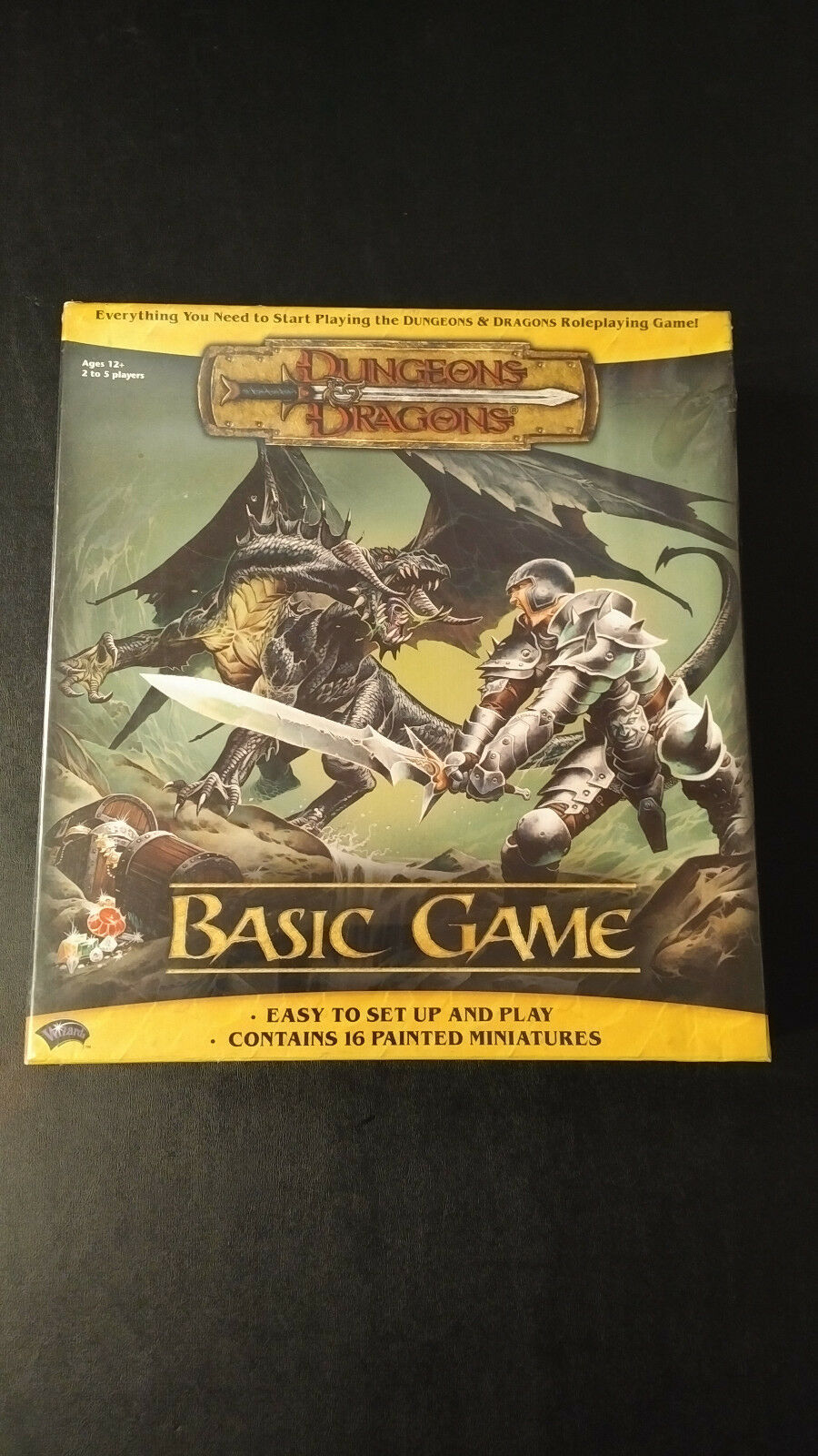 Dungeons & Dragons, D&D, Basic Game, New Sealed