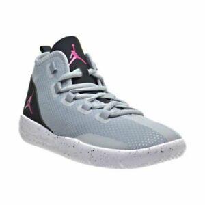 buy online 3dc1e a210f Image is loading Jordan-Junior-Kids-Girls-Reveal-GG-Wolf-Grey-