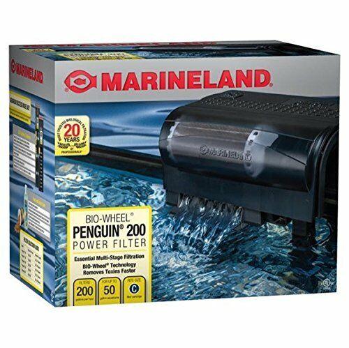 Penguin Filter Marineland Power Size Filtration Gallon Rite Multi Stage Aquarium