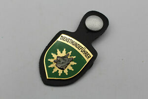 LK757: Polizei Diensthundeführer altes Stück