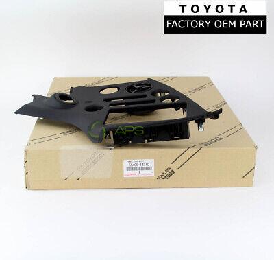 OEM Toyota 93-98 Supra JZA80 Center Console Dash Trim Panel Black 55405-14140