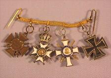 Alte Miniatur Orden Sachsen aus Nachlass