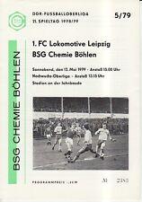 OL 78//79 BFC Dynamo Berlin-FC Carl Zeiss Jena