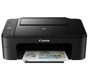 Canon Pixma TS3355 All-in-One Wireless Inkjet Printer - Black (3771C069)