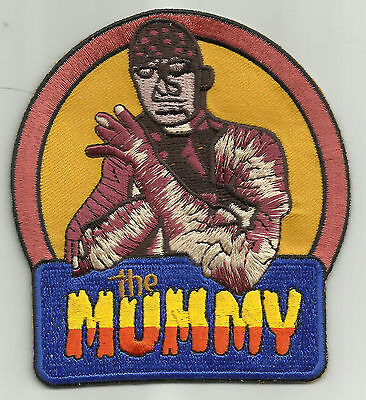 THE MUMMY CULT CLASSIC MONSTER MOVIE HORROR FILM BIKER ROCKABILLY PATCH