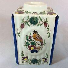 Antique Dutch Delft Polychrome Jar/Pot. Wonderful condition!