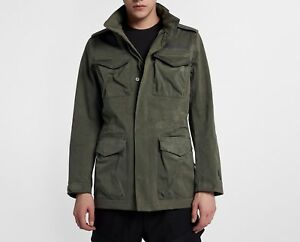 a67f01dd666f Image is loading Nike-NikeLab-Collection-Moleskin-M65-Men-Jacket-Military-