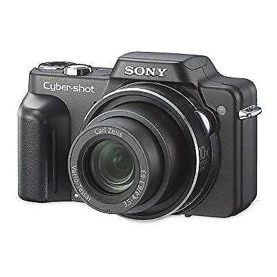 Sony Cybershot DSC-H10 8.1Mp Digital Camera with 10x Optical Zoom Black