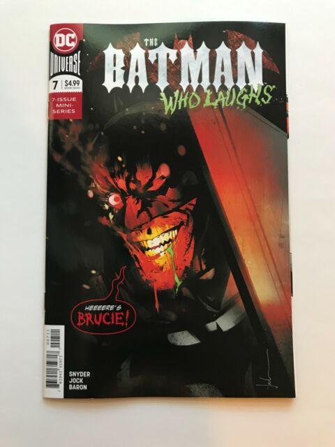 Batman Who Laughs 7 Cover A Jock Cover DC Comics 2019