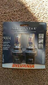 Details About New Sylvania Silverstar Headlight Bulbs 9004 High Performance Lighting Pair