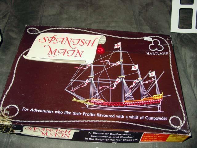 RARE -  SPANISH MAIN gioco of Piracy (rare copy)  il più recente