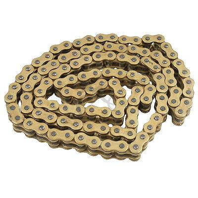 O-Ring Heavy Duty Gold Drive Chain 525x130 ORing 525 Pitch x 130 Links Master