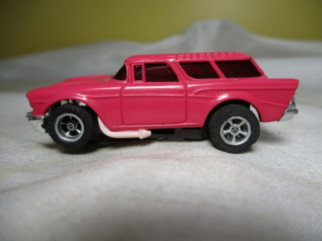 Vintage Aurora AFX '57 Chevy Nomad HO Scale Slot Car