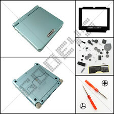 New Pearl Blue Nintendo Game Boy Advance SP GBA Casing/Case/Shell/Housing Kit
