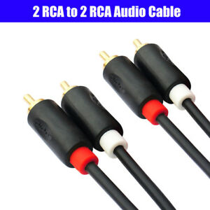 2RCA-Male-to-2RCA-Male-Audio-Cable-Gold-plated-For-Laptop-HDTV-DVD-VCD-Amplifier