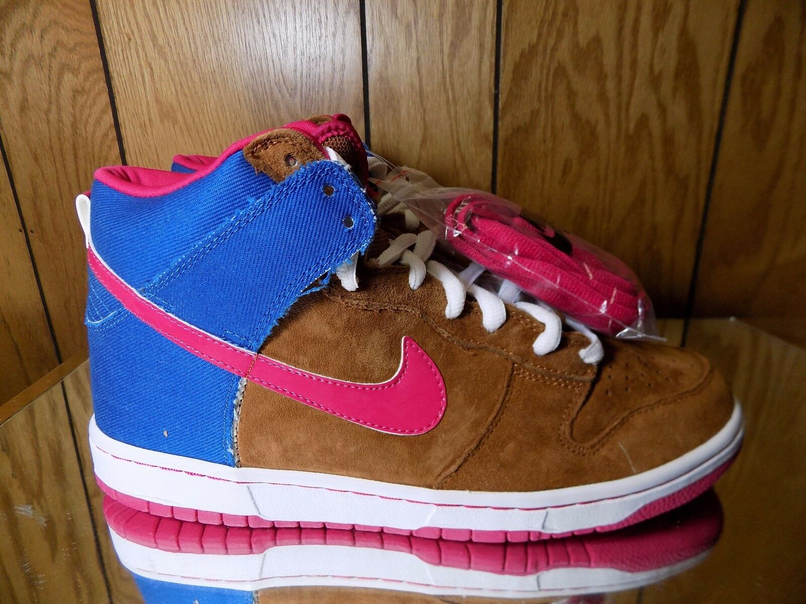 DS 2008 NIKE DUNK HIGH PRO SB Mr. Todd Bratrud hazelnut/cerise 305050-261 sz 10