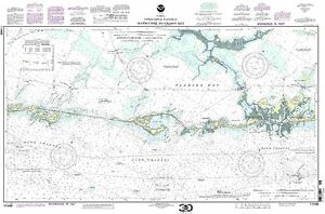 NOAA Chart Intracoastal Waterway Matecumbe to Grassy Key 17th Edition 11449
