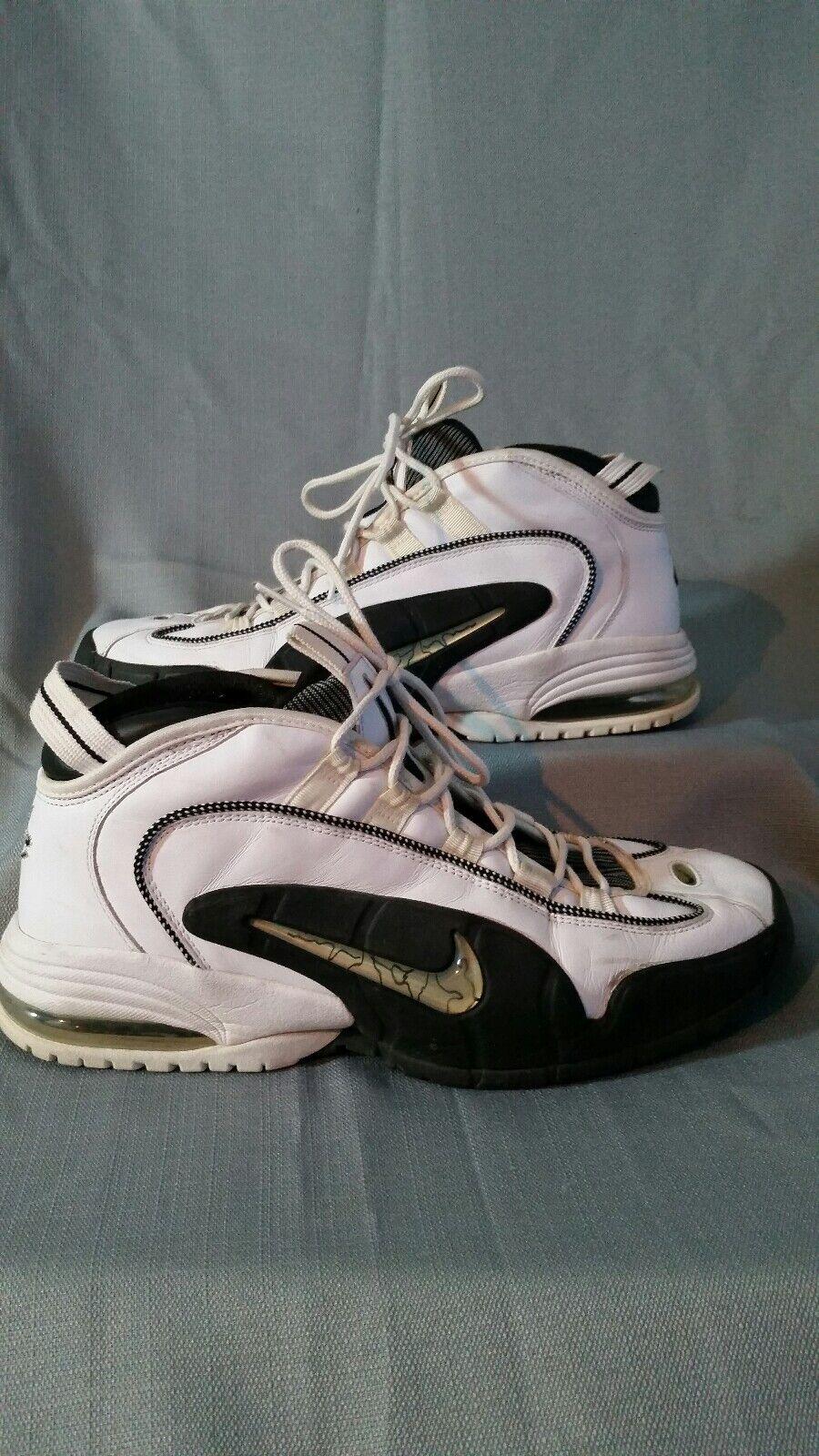 Nike air max penny 1 rara!bianco nero argento numero 13 '