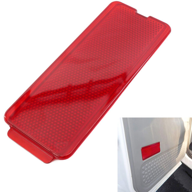 Premium Door Reflector Interior Red Compatible with Ford 1999-2007 SuperDuty F250 F350 F450 F550 Super Duty /& 2000-2005 Excursion