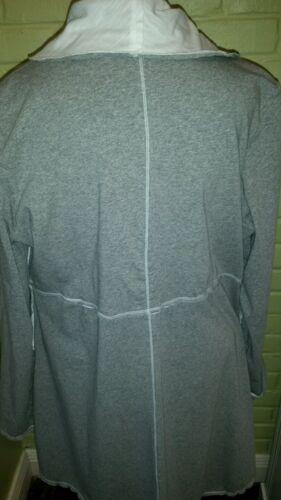 Cotton Neon Jacket Gray nwt size M 7916 Viola Buddha Grey qq4wtO