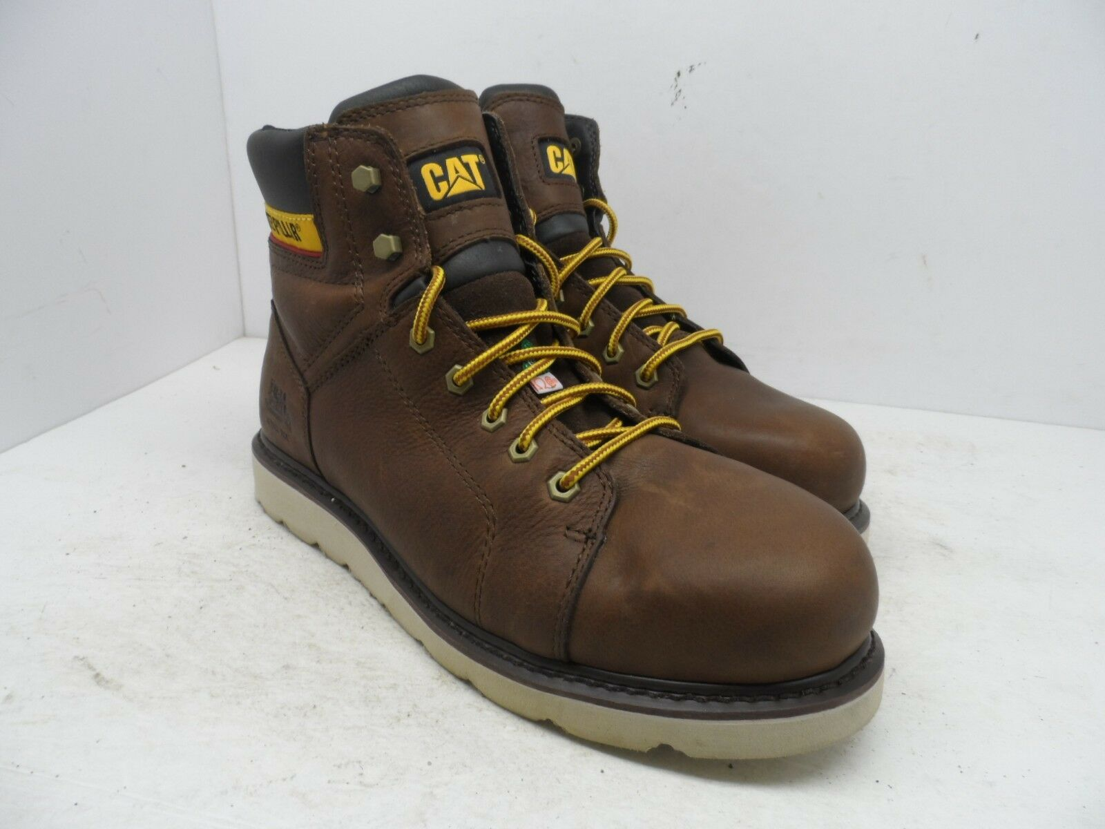 CAT Caterpillar Uomo JOURNEYMAN JOURNEYMAN JOURNEYMAN 6  WATERPROOF TX CSA STEEL TOE WORK avvio 10W 6f4626