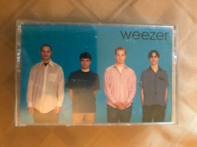 Weezer *blue album *self titled *cassette *tape *VG+ *DGCC-24629 *Geffen *1994