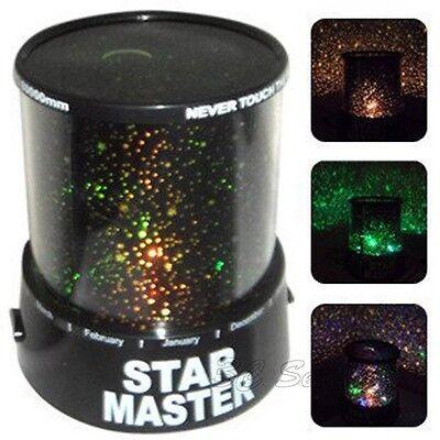 New Star Master Sky Planet Laser Projector Cosmos Night Light Lamp Constellation