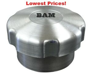 SPUN ALUMINUM GAS TANK 1//4 TURN VENTED GAS CAP