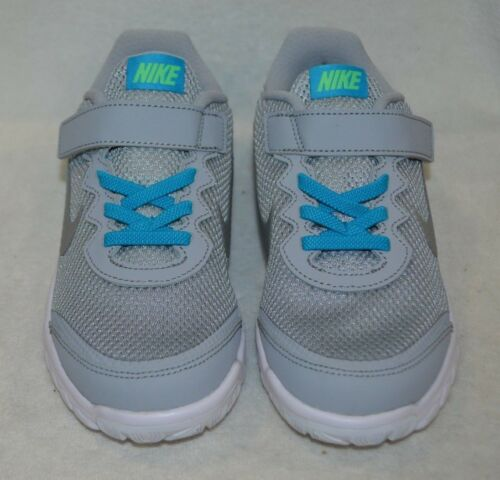 Nike Kid/'s Flex Experience 4 Grey//Silver//Lagoon Unisex Running Shoes-Asst Sizes