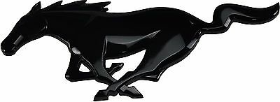 OEM NEW 2015-2017 Ford Mustang GT Black Front Grille Pony and 5.0L Fender Emblem